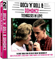 ROCK AND ROLL & ROMANCE ~ Teenagers In Love NEW + SEALED 2 CD 50 Vintage Hits