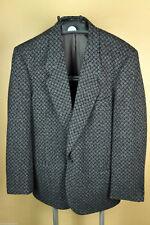 Men's Giorgio Armani Wool Sport Coat Jacket Blazer 1 Button Gray Size 44 Vintage
