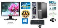 Dell 790 Desktop Computer Intel Core i3 Windows 10 pro 64Bit 1TB 3.1ghz 8gb Ram