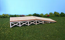 HO Scale ** Laser Cut ** Custom Loading Ramp Kit
