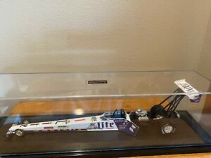 Larry Dixon 1997 Miller Lite Top Fuel Dragster in case by Action, LE, 1/24, used
