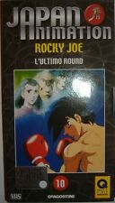 VHS - DE AGOSTINI/ JAPAN ANIMATION - VOLUME 10 - ROCKY JOE