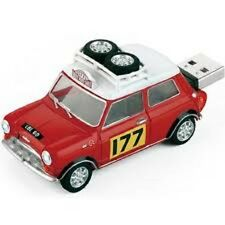 Rally 177 Mini Cooper Car USB Flash Drive 8GB