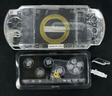 Crystal White Housing Faceplate Case Cover for PSP 1000 (B)