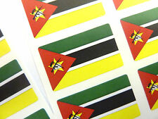 Mini Sticker Pack, Self-Adhesive Mozambique Flag Labels, FR188