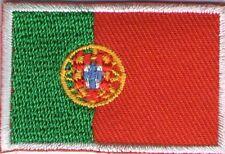 écusson ECUSSON PATCHE THERMOCOLLANT DRAPEAU PORTUGAL DIMENSIONS 4,5 X 3 CM