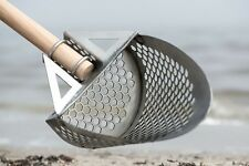 NEW! Beach Sand Scoop Indiana Prime Stainless Steel Metal Detector Minelab CTX