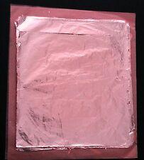 *** 500 Blätter Blattmetall Schlagmetall Farbe: rotgold Kupfer(wie Blattgold)
