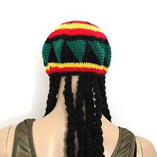 Reggae Black Dreadlocks Wig Hat Gr8 for Fancy Dress Costume Outfit Hat