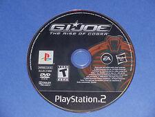 G.I. Joe The Rise of Cobra (Sony PlayStation 2) PS2 game disc only GI JOE