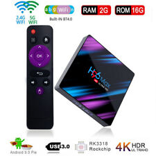H96 MAX TV Box RK3318 Android 9.0 2GB+16GB Quad Core 4K BT 4.0 Top Media Player