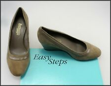 EASY STEPS WOMEN'S WEDGED HEELS PUMPS FASHION SHOES SIZE 7 C