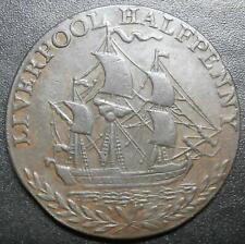 More details for halfpenny token - liverpool 1791