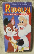 RUDOLPH THE RED-NOSED REINDEER Vintage Christmas Cartoons Vhs Video Tape NEW