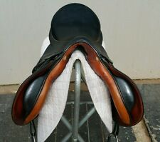 Stubben Siegfried MF Spezial 17.5-31 cm MADE IN GERMANY-Eventing/Jumping-EUC