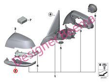 Espejo De Puerta De Ala Inferior BMW F20 F21 F22 F23 F30 F31 F32 F34 F36 E84 X1 i3 (JS)