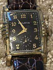 Bulova L2 Hand Wind Mechanic Watch Winds And Runs