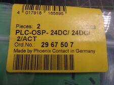 PHOENIX contact PLC Aktor Klemme Grundklemme 2966058 24VDC