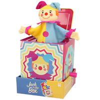 Classic Cute Traditional Clown Jack in the Box Toy Pop Up Musical Kids Childs