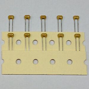 10 Stück Kemet 100nF /100V Keramik-Vielschichtkondensator MLCC 10% X7R   (M0619)