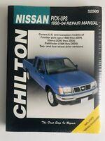 Chilton's Nissan Pick-ups 1998-04 Repair Manual, Paperback by Kibler, Jeff
