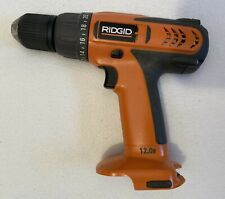 """Rigid (R820011) 3/8"""", 12V, Cordless Drill - includes battery charger, no battery"""
