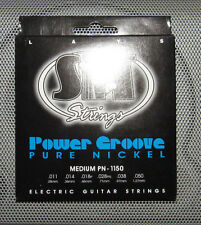 SIT Power Groove Medium PN1150 Pure Nickel Electric Guitar Strings