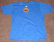 NBA Knicks Blue Short Sleeve T Shirt M 2014