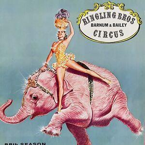 Vintage Ringling Bros Barnum & Bailey Circus 1958 Program Souvenir Ephemera