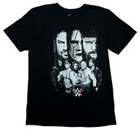 WWE Licensed Adult Black T-Shirt (John Cena, Under Taker, Roman Reigns, Brock) M