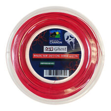 Weiss Cannon ROSSO GHOST 18 / 1.18 mm Tennis stringa 200m REEL
