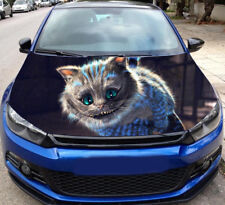 Cheshire Cat Full Color Sticker Car Hood, Car Vinyl Graphics Decal Wrap MH419