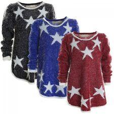 Markenlose Mädchen-Kapuzenpullover aus Baumwollmischung