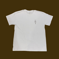 Travis Scott Cactus Jack Brown Logo White Tee Shirt MCDONALDS TS Authentic