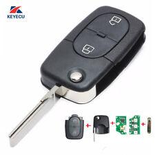1J0 959 753 A New Flip Remote Key Fob for 1998-2000 Volkswagen Passat Golf MK4