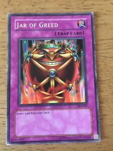 Jar Of Greed Yugioh Trading Card SKE-047 Trap Card