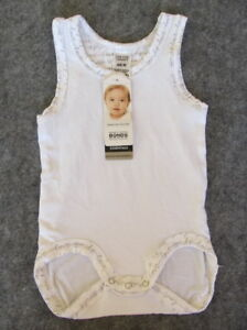 New White Bonds Baby White /Pink Bamboo Jumpsuit RRP$12.95Free postage over $100