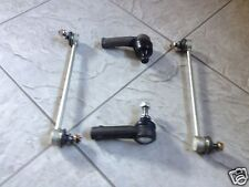 VW PASSAT 3C5,3C2 B6 05>>TWO FRONT ANTI ROLL BAR  DROP LINKS+TWO TRACK ROD ENDS