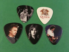 Lot of (5) Novelty Guitar Pick - Queen - Freddie Mercury Band Photos Free Ship!
