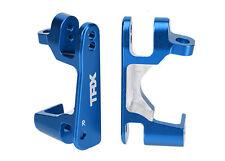 TRAXXAS 6832X Caster Blocks Alluminio Anodizzato Blu/TRAXXAS CASTER BLOCKS ALUMI
