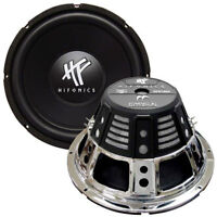 """SUBWOOFER 12"""" HIFONICS 800 WATTS MAX DUAL 4 OHM VOICE COIL"""