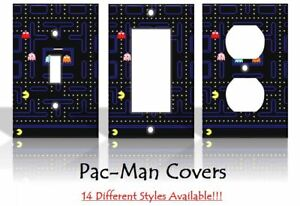 Pac-Man Pacman Nintendo Arcade Games Light Switch Covers Home Decor Outlet