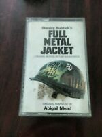 Cassette tape STANLEY KUBRICK'S FULL METAL JACKET SOUNDTRACK