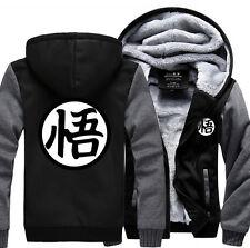 Dragon Ball Z Son Anime Goku Cosplay Jacket Sweatshirts Thick Coat Hoodie Warm
