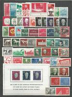 DDR   Postfrisch 1958  kompletter  Jahrgang