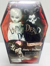 "Living Dead Dolls Bella Y La Bestia Muñeca Figura Set Mezco Toyz 10""/25cm"