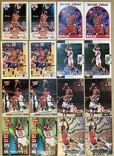 16 Card Michael Jordan Premium Lot.