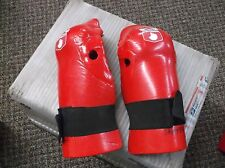 Used RheeMax Promax Mma Sparring Boxing Martial Arts Train Gloves Handguards Red