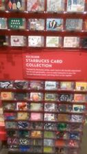 STARBUCKS 2014 SET OF 99 HOLIDAY GIFT CARDS.