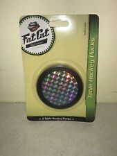 NEW Fat Cat Prism Air Hockey Table Puck Set - 2 1/2 Inch - Set of 2 0104A
